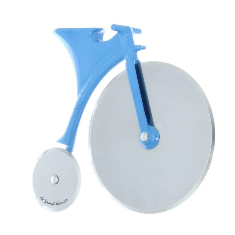 Vélo Grand-Bi bleu pizza